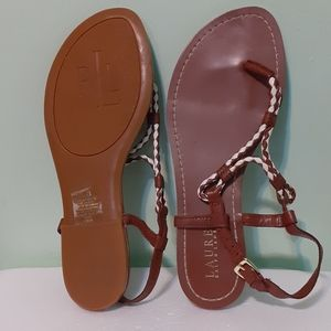 Leather thong sandal 7.5 cottage core vibes